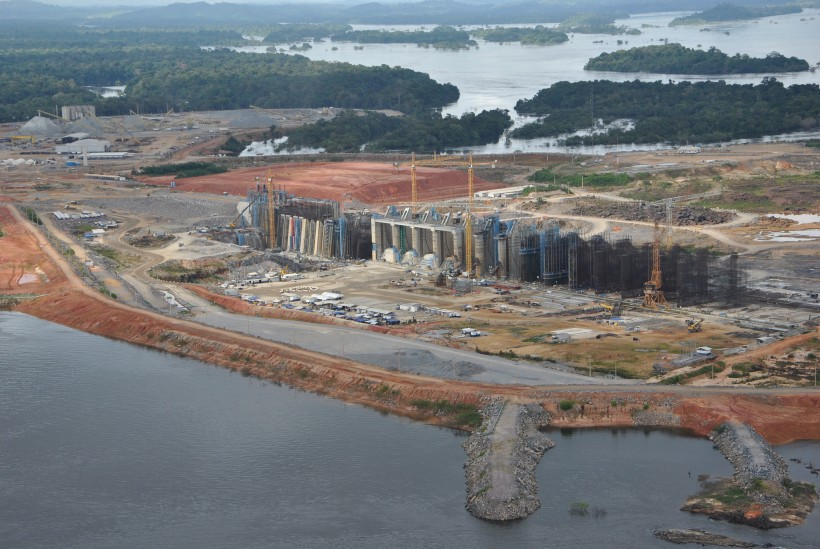 Usina Hidrelétrica de Belo Monte (PA). (foto da internet)